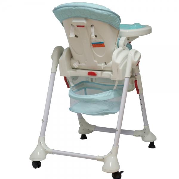 Coto Baby Jídelní židlička a houpačka 2v1 Zefir 2019 - sv. modrá