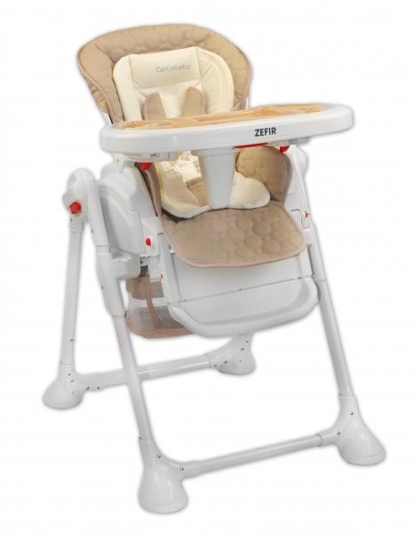 Coto Baby Jídelní židlička a houpačka 2v1 Zefir 2019 - béžová
