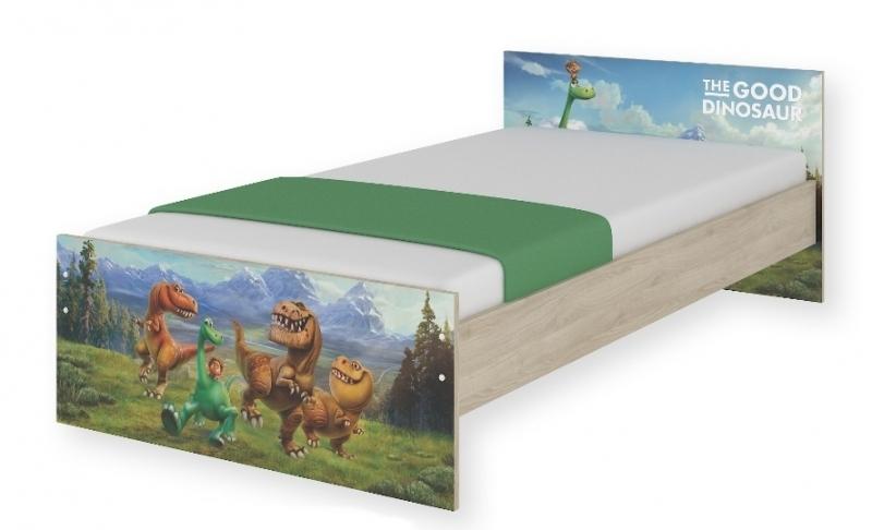 BabyBoo Dětská junior postel Disney 180x90cm - Dinosaurus, D19