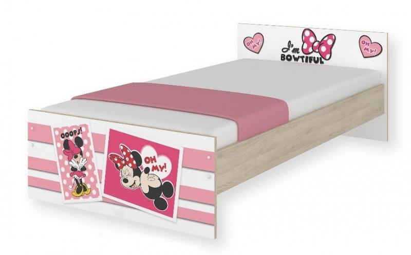 BabyBoo Dětská junior postel Disney 180x90cm - Minnie UPS, D19