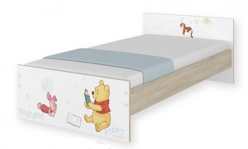 BabyBoo Dětská junior postel Disney 180x90cm - Medvídek PÚ, D19