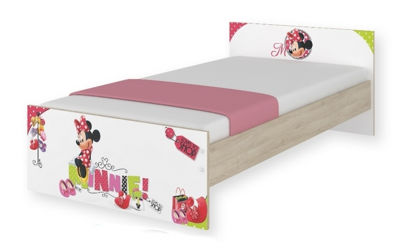 BabyBoo Dětská junior postel Disney 180x90cm - Minnie, D19