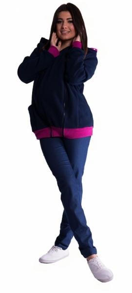 Be MaaMaa Mikina s kapucí nejen pro těhotné - granát