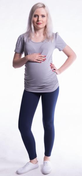 Těhotenské legíny - granát, vel. XL