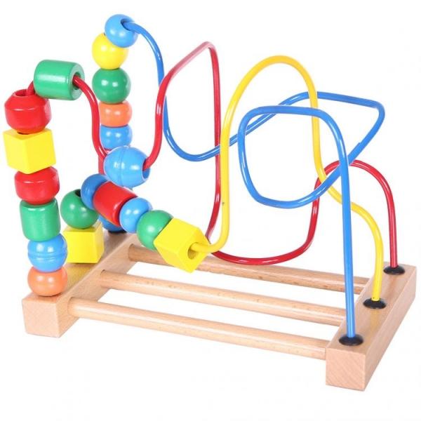 Dřevěný labyrint  ECO TOYS
