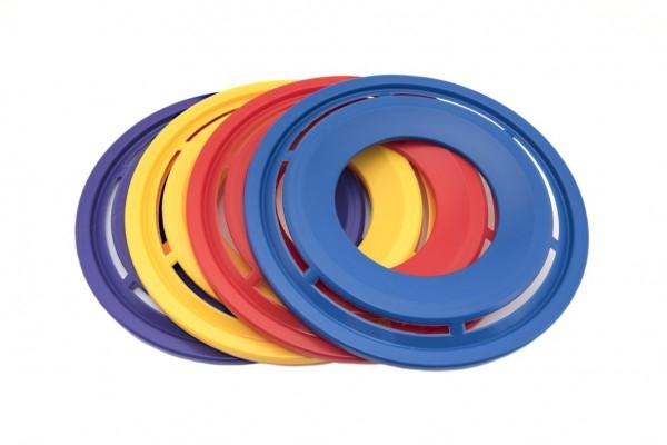 Létající talíř Prstenec plast průměr 28cm 12m+