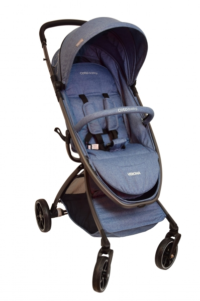 Coto Baby Kočárek  Verona 2017 Comfort Line - Jeans