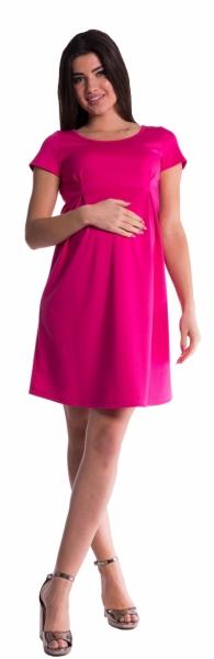 Be MaaMaa Těhotenské šaty - amarant