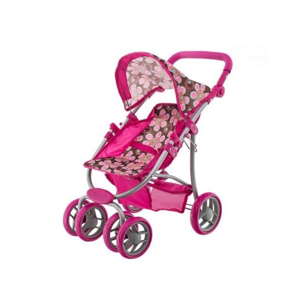 Euro Baby Sportovní kočárek pro panenky - Flowers