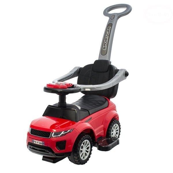 Euro Baby Jezdítko, odstrkovadlo, odrážedlo Sport Car  - červené