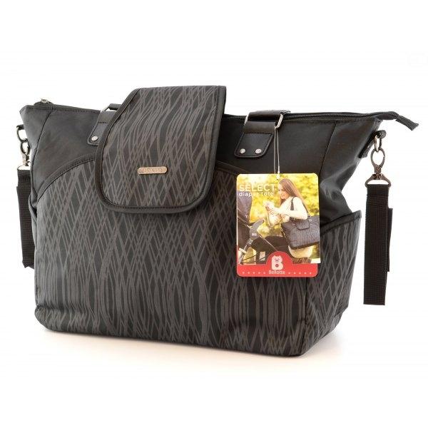Euro Baby Přebalovací taška ke kočárku - černá