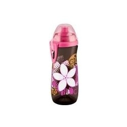 NUK  Sports Cup láhev 450 ml - Květina