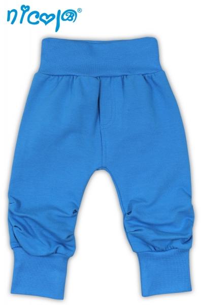 Nicol Tepláčky, kalhoty TUČŇÁK - tyrkysovável. 56 (1-2m)