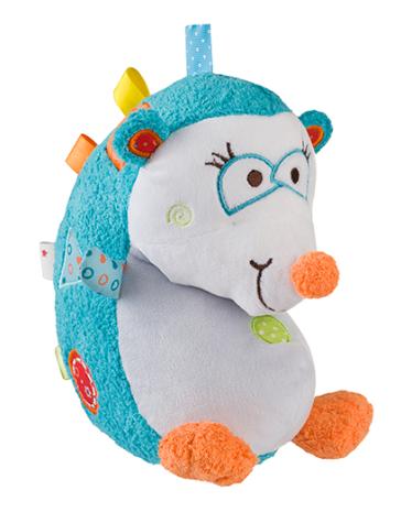 BabyOno Edukační hračka - chrastítko - Ježek Charlie