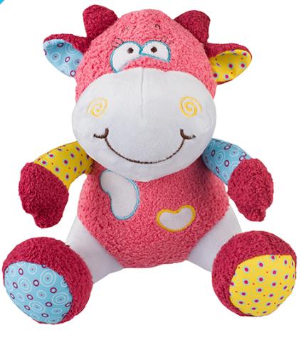 BabyOno Edukační hračka - chrastítko - Kravička Rosie