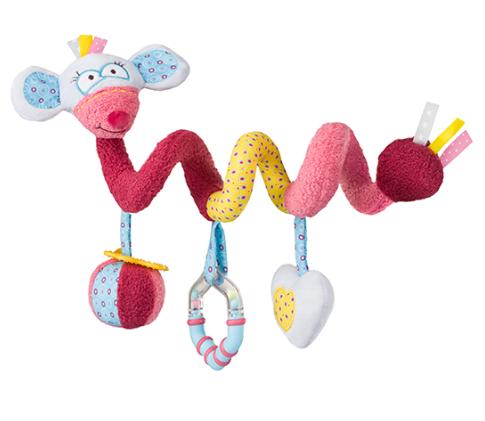 Plyšová spirála Baby Ono - Myška Mia