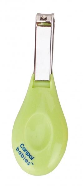 Kleštičky na nehty Canpol Babies - sv. zelené
