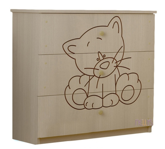 Dětská komoda - Kočička