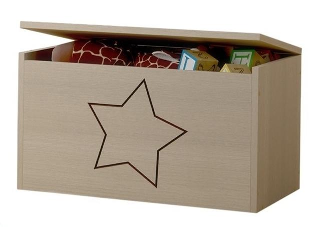 BabyBoo Box na hračky, truhla s hvězdičkou ke kolekci Žirafka