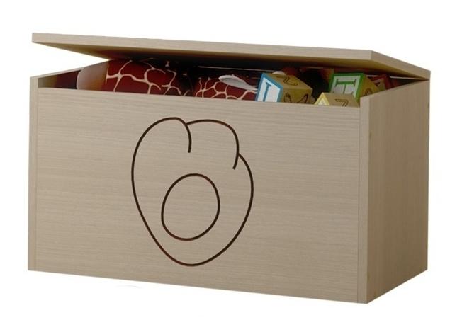 BabyBoo Box na hračky, truhla Kočičí packa