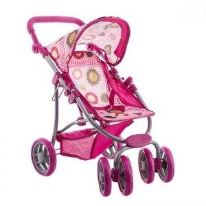 Euro Baby Sportovní kočárek pro panenky - růžový