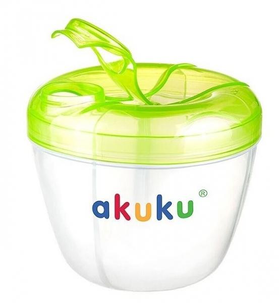 Dávkovač sušeného mléka v prášku AKUKU - zelený