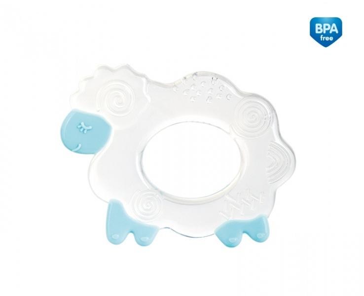 Kousátko silikonové Canpol Babies - Ovečka - modré