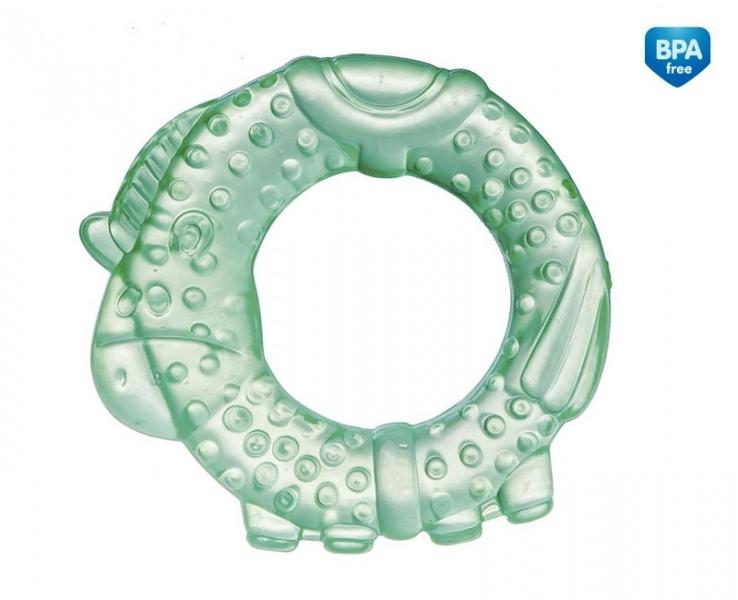 Kousátko vodní, chladící Canpol Babies -Koníček - zelené