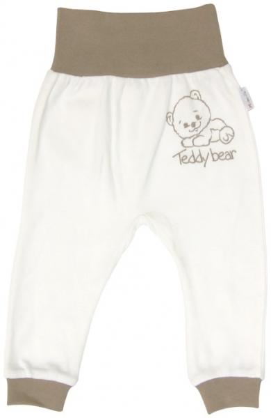Bavlněné tepláčky Mamatti Baby Bear TEDDY