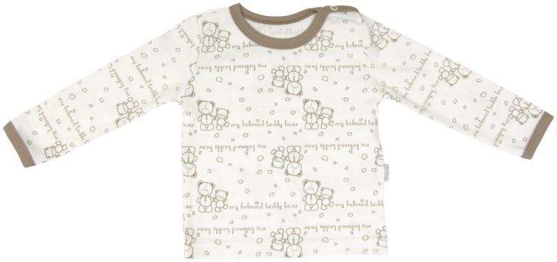 Bavlněné pyžamko Mamatti Baby Bear TEDDY, Velikost: 80 (9-12m)