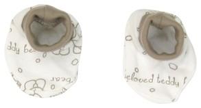 Bavlněné botičky/ponožtičky Mamatti Baby Bear TEDDY