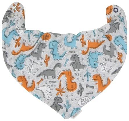 Dětský šátek na krk Mamatti DINO (Vel. UNI, HU8675, Kolekce: DINO Mamatti - PZ 2017/2018)