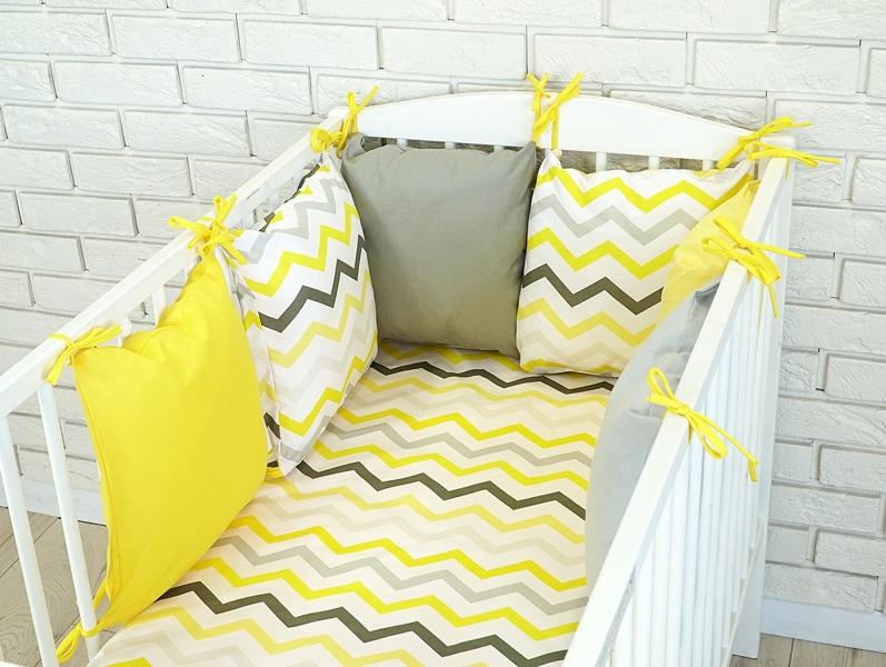 Baby Nellys Mantinel BE LOVE RETRO polštářkový s povlečením vzor č.19