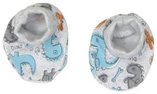 Bavlněné botičky/ponožtičky Mamatti DINO