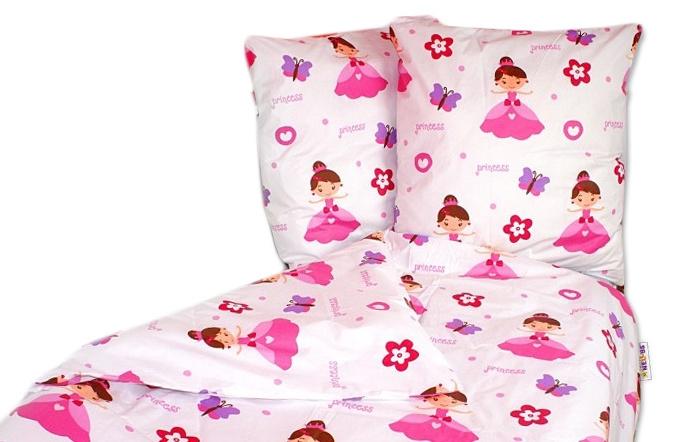 Bavlněné povlečení Baby Nellys ® 140 x 200 - Princezna Heli