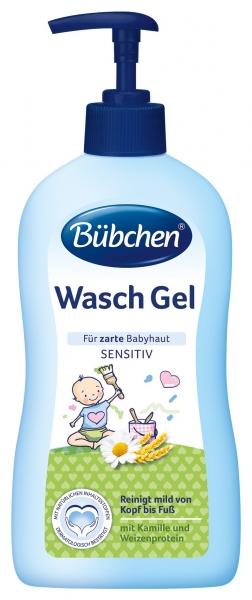 Bübchen Mycí gel sensitiv s pumpičkou 400 ml