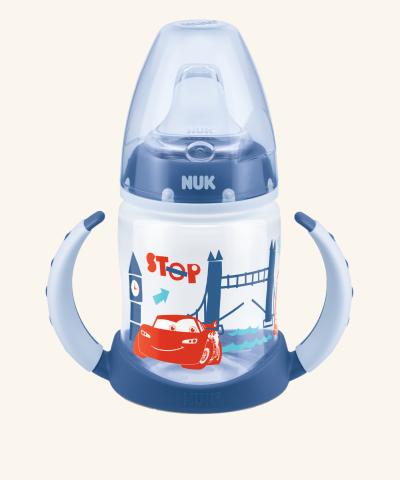 Hrneček NUK First Choice Disney Cars - modrý - 150 ml
