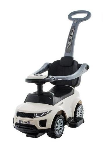 Euro Baby Jezdítko, odstrkovadlo, odrážedlo Sport Car -  bílé