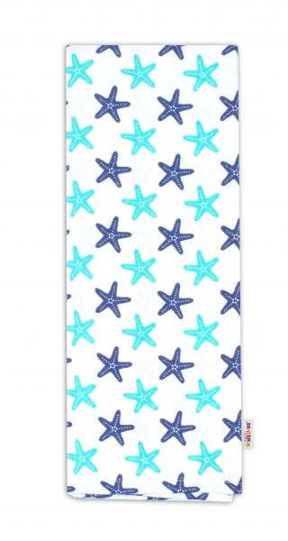 Flanelová plenka -  Hvězdice modro/zelené
