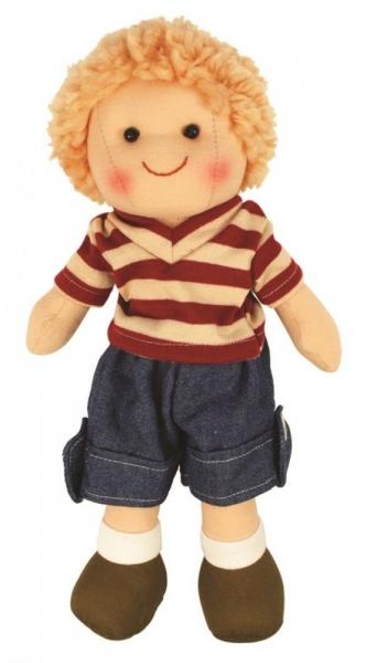 Bigjigs Hadrová panenka Tomášek, 27cm