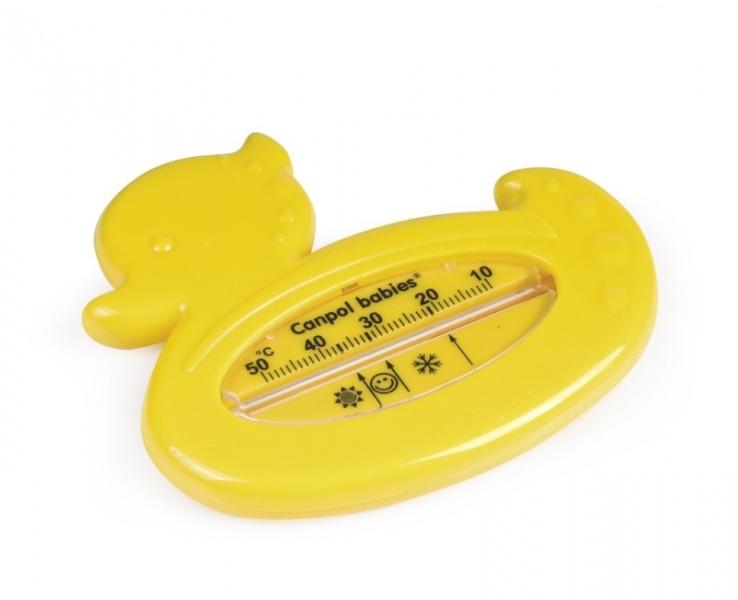 Teploměr do vody KAČENKA Canpol babies - žlutá