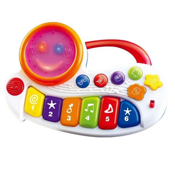 Interaktivní hračka s melodii Veselé pianko
