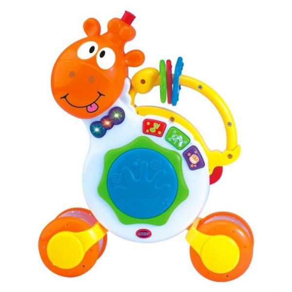 TOT KIDS Interaktivní hračka s melodii Hrající žirafka