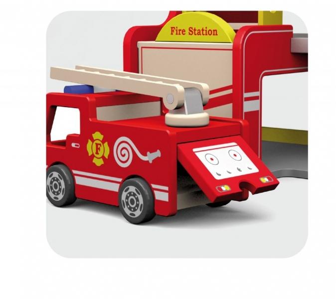 Viga Dřevěná požárnická stanice