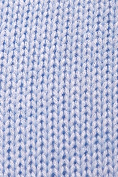 Be MaaMaa Pletený zavinovací svetřík MAMI - světle modrý
