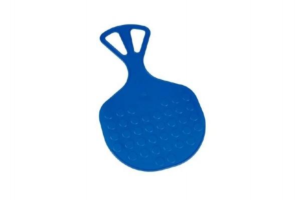Kluzák Lopata Mrazík plast 58x35cm modrý