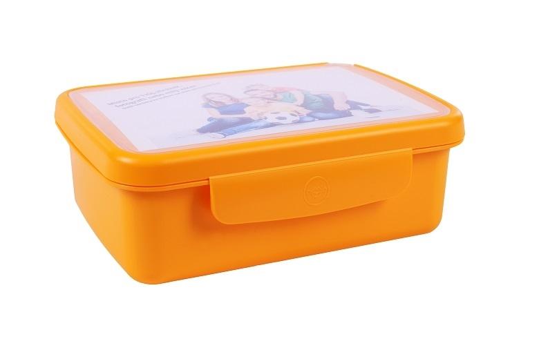 Svačinový box Zdravá sváča - žlutý