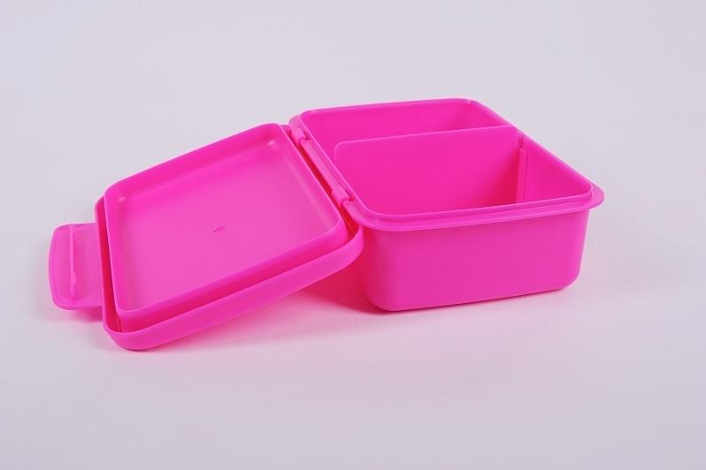 Svačinový box Zdravá sváča - růžový