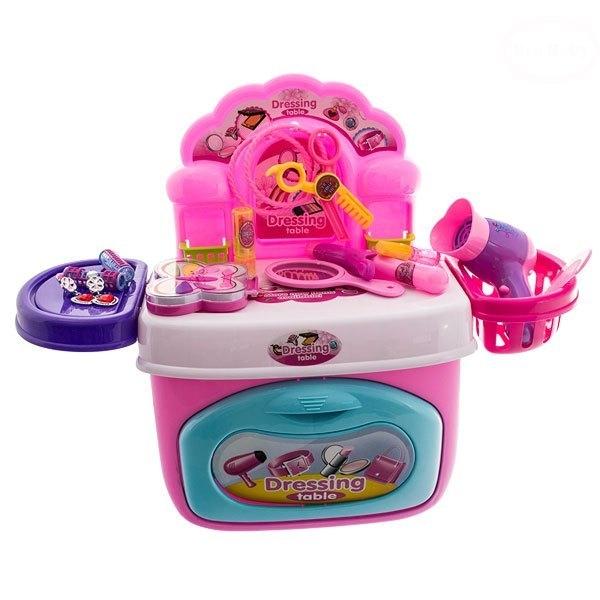 Euro Baby MINI toaletní stoleček  - růžová