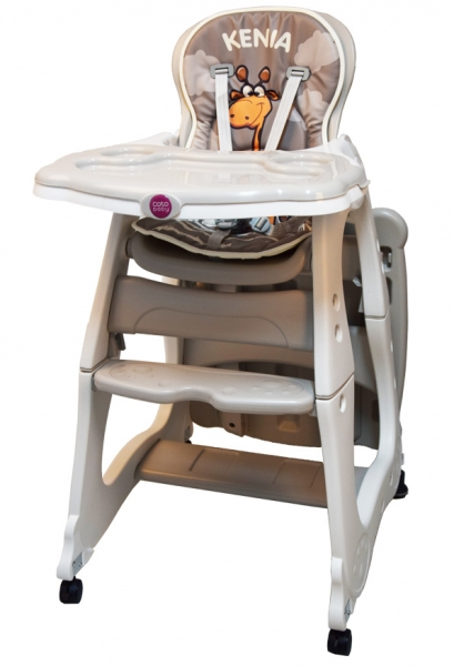 Coto Baby Jídelní židlička Kenia 2018 - béžová